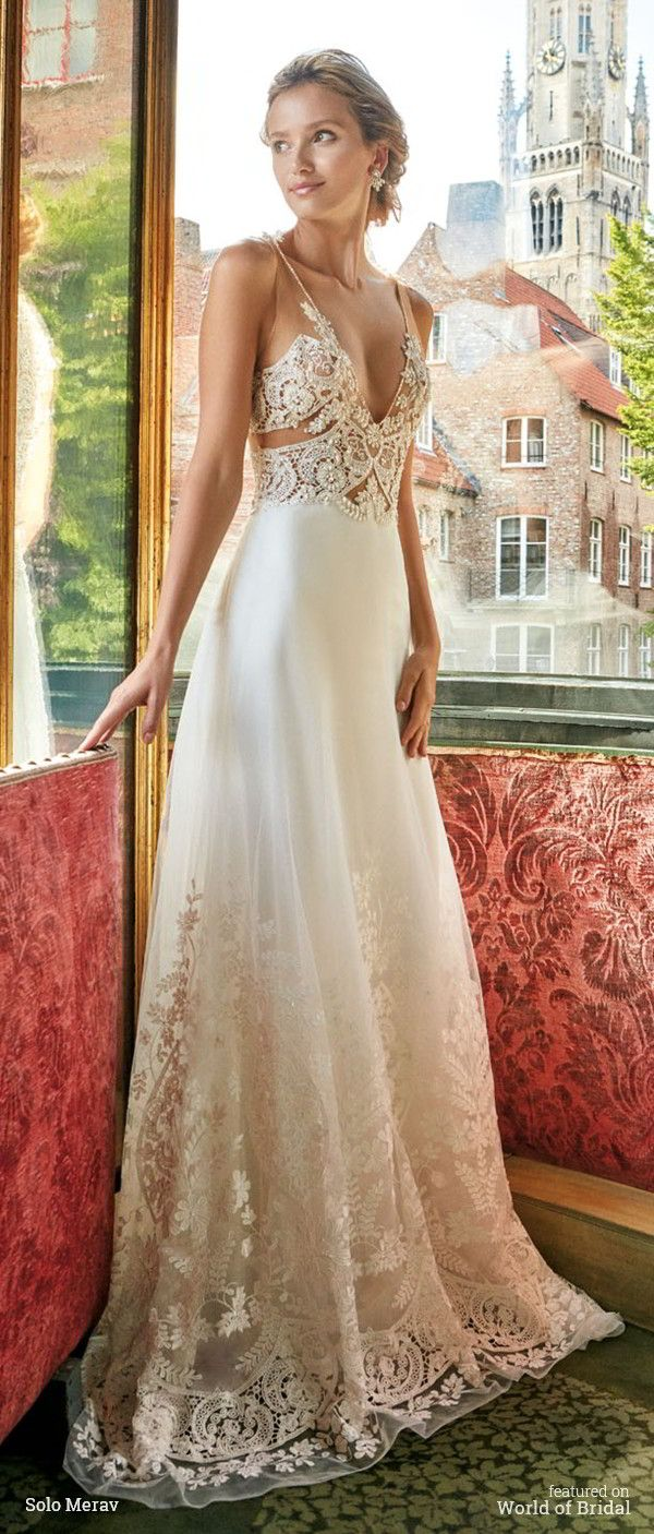 687 best images about beach weddings on pinterest destination bruges collection by solo merav 2016 wedding dresses sponsored highlight ombrellifo Images