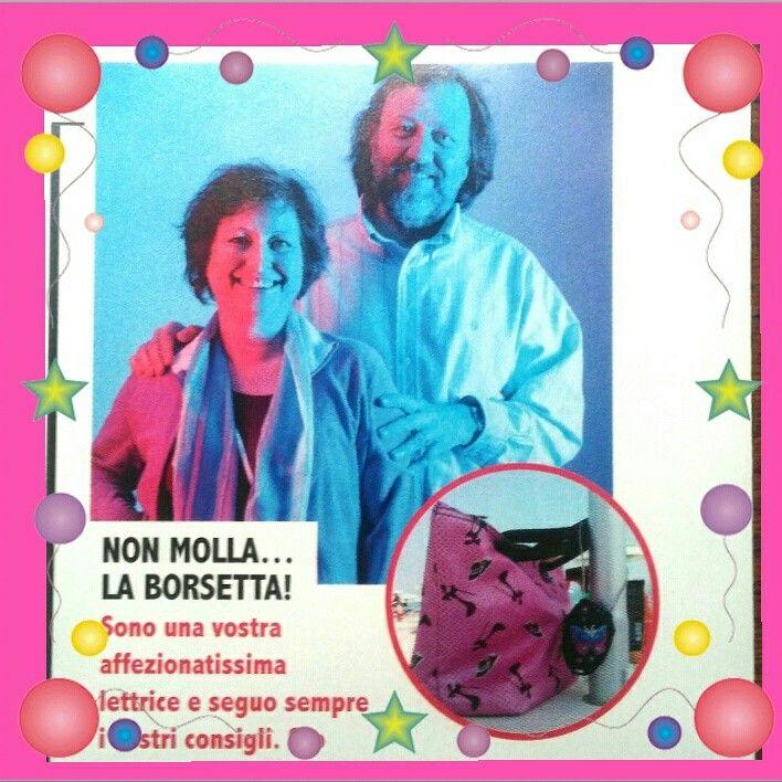 Usciti sul nuovo numero di Millionaire!!! 😊😊😊 #italiacheriparte  #bag #fashion #style #antifurto #antitheft #lucchetti #ladri #borseggiatori #borsette #fashionbloggers #fashionbag #pochette #supermercato #portafoglio #smartphone #furti #borseggio #folla #ristoranti #piscina #mare #spiaggia #discoteca #balera #balli #passeggino #automobile #mezzipubblici #metropolitana #trolley #christmas #happychristmas #happynewyear #snow #winter #natale #capodanno #neve #regali #regalidinatale