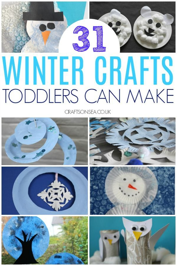 Easy And Fun Winter Crafts For Toddlers Winter Crafts For Kids