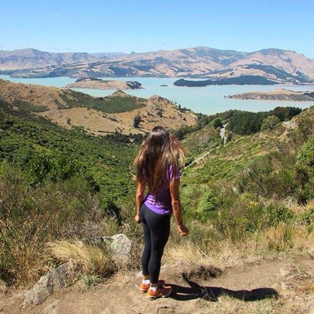 Climbing Port Hills! #nomadiccarol #carolprates #newzealand