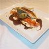 Lomo De Pargo Con Alcachofas Confitadas, Tomate Concasse y Salsa De Palo Cortado. Recetas, Recipes, Food, gastronomía, cocina...