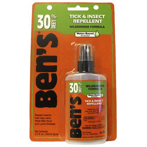 Ben's 30% Deet Tick  Insect Repellent 3.4oz Pump (3 Pack) -- Check out the image by visiting the link.