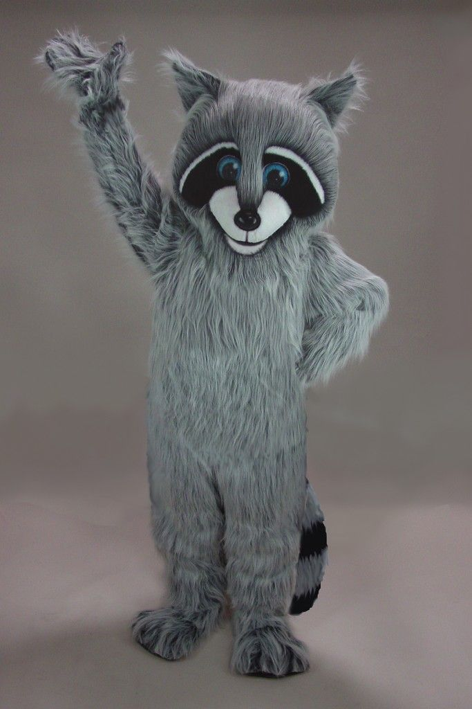 Buy Racoon Mascot Costume 48147 University Mascot For High School