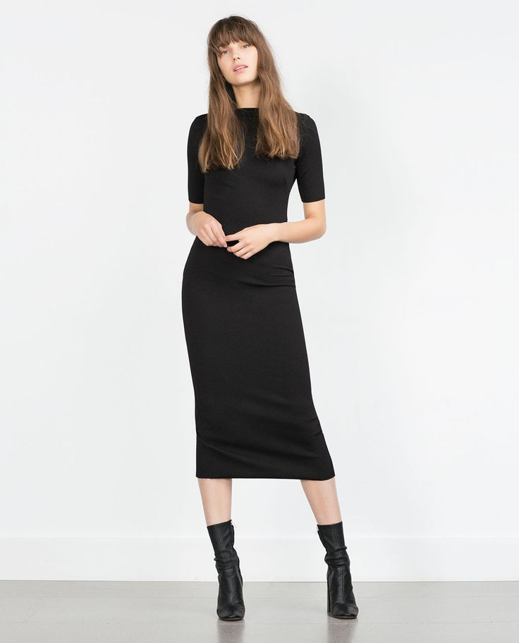 Image 1 of MID-LENGTH TUBE DRESS from Zara