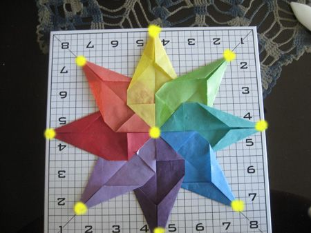 how to make paper stars for windows
