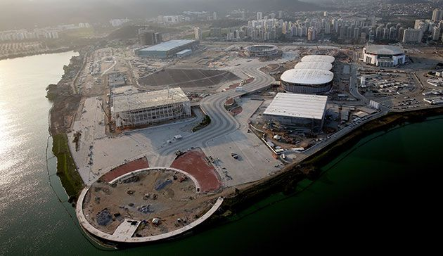 Rio 2016 venue construction