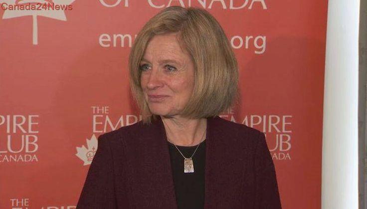 Alberta Premier Rachel Notley's pro pipeline tour well received in Calgary