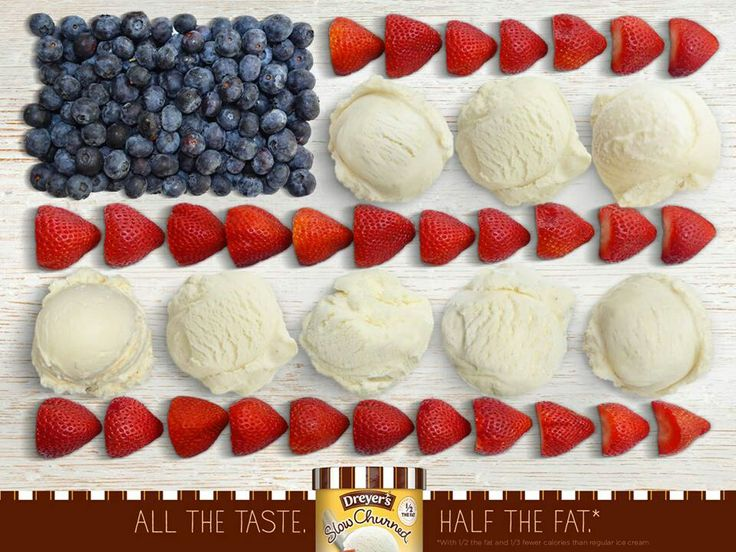 Dryers.  Ice Cream.  Independence Day.  Strawberries.  Blueberries.