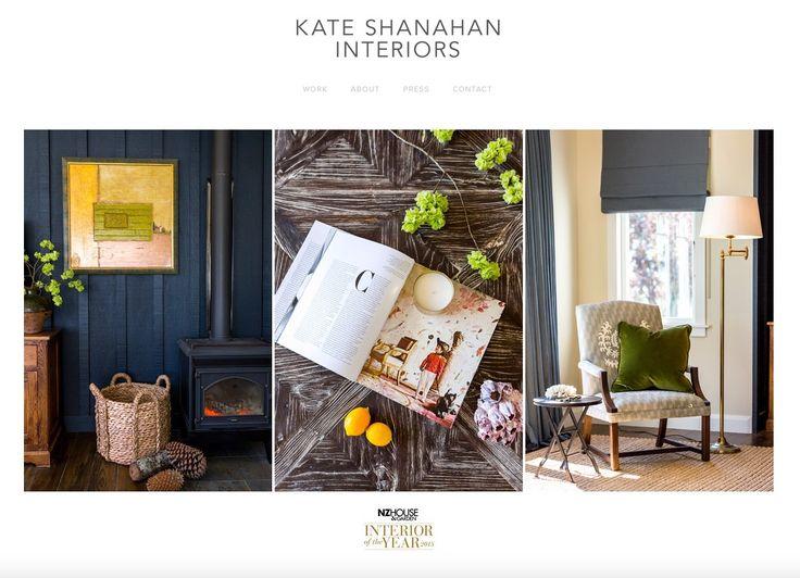 Kate Shanahan Interiors - Website
