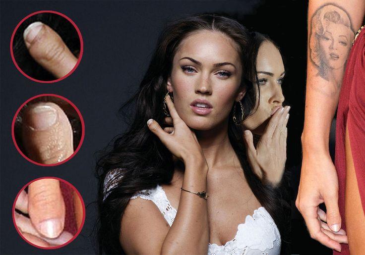 Megan Fox thumb: Megan Fox has clubbed thumbs/toe thumbs in both hands! I Have The Same Thumbs!