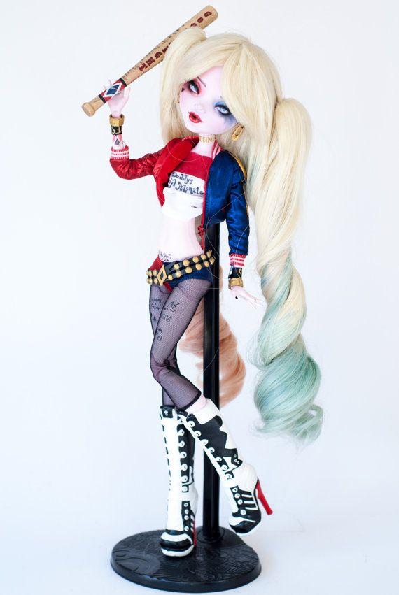 VENDU pour Valerie inspiration Harley Quinn par ColourToTheBone