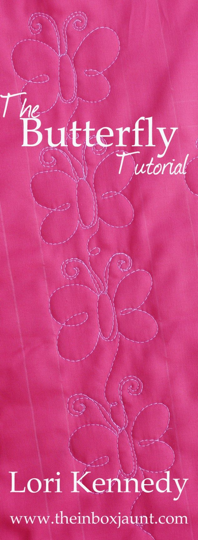 Butterfly Machine Quilting Tutorial                                                                                                                                                                                 More