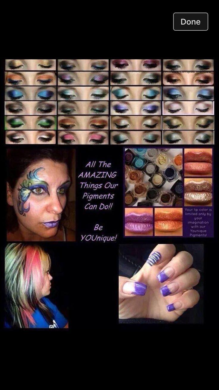 Mineral Pigments can do it all! #notjustmakeup #creativity #versatile  #Beautifullashesbeyond  www.Beautifullashesbeyond.com