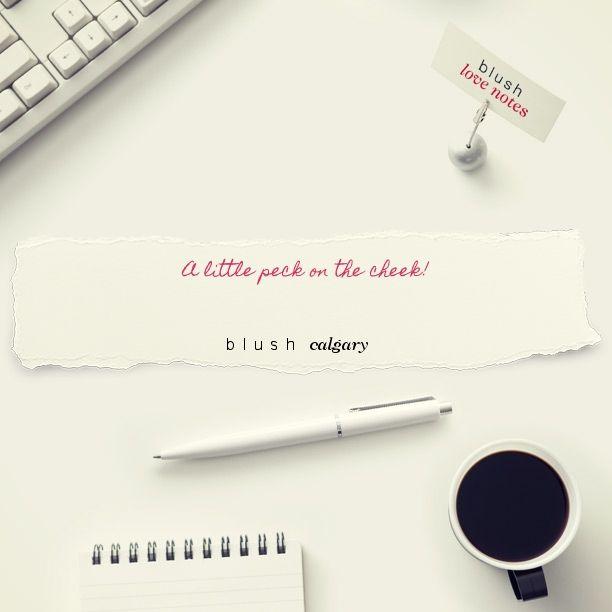 Here's a Blush Love Note http://bit.ly/1tgOT6z #BLUSHNOTES