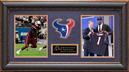 Jadeveon Clowney Houston Texans 2014 1st Draft Pick Photo Display