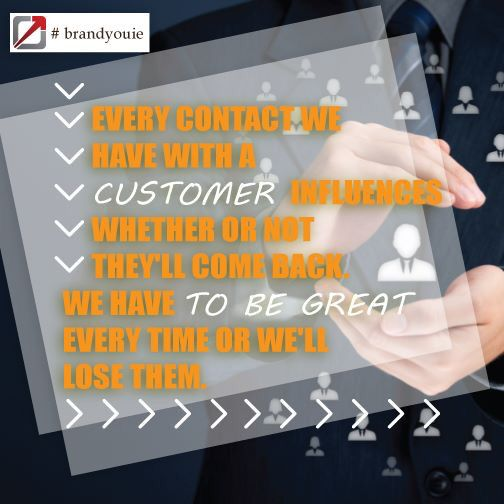 Customer contact #coaching #quotestoinspire #brandyouie #me #followme #PhotoOfTheDay #true #comment #creative