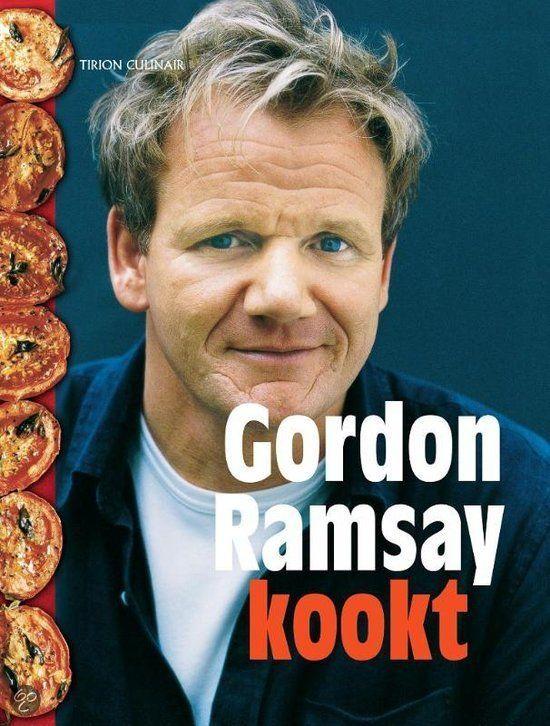 GORDON RAMSAY KOOKT - Gordon Ramsay - 9789043912327 - € 29,95 - GRATIS VERZENDING. In dit boek laat Ramsay zich opnieuw door de Britse culinaire tradities inspireren, al zitten er ook Thaise recepten bij. Uitgangspunt is dat er met plezier wordt gekookt en gegeten. De recepten in dit boek staan ingedeeld op gerechtsoort: soepen, pasta's, vis, vlees, ovenschotels, groente, desserts en meer. De meeste zijn gedeeltelijk.....  BESTELLEN BIJ TOPBOOKS OF VERDER LEZEN? KLIK OP BOVENSTAANDE FOTO!