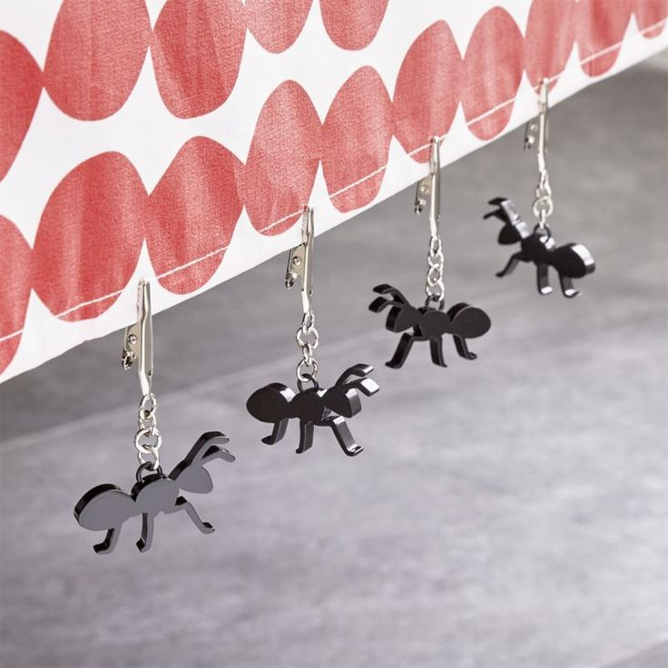 Shop Ant Tablecloth Weights Set Of Four. Clever Tablecloth Weights Put  Picnic Pests To Work