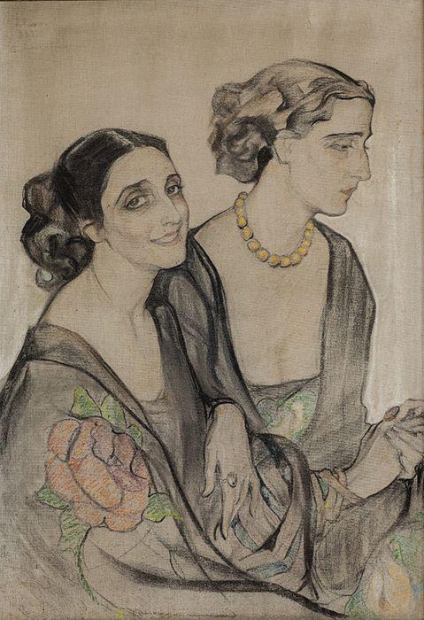 Прекрасные дамы Елена Андреевна Киселева 1927