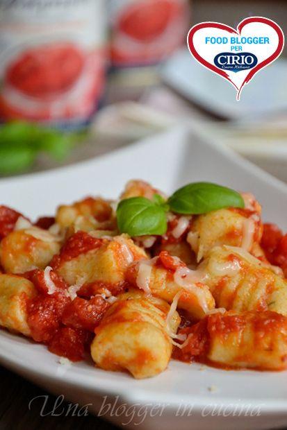 Gnocchi di ricotta e basilico al pomodoro leggero    Cirio, gusta le nostre ricetta.