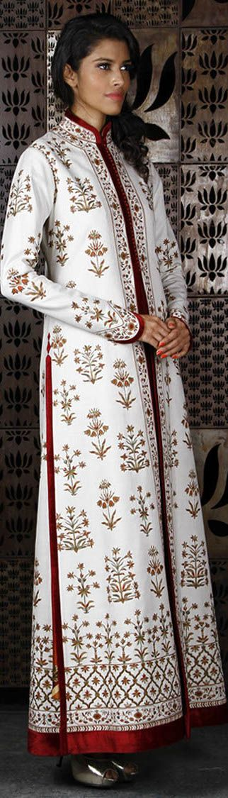 Long coat with Kashida embroideryhttp://iam-afrika.com/story.php?title=pierre-wardini-yaarikut-com