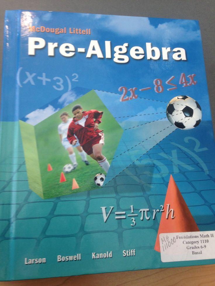 13 best 7th Grade Pre-Algebra Text Set images on Pinterest   Algebra ...
