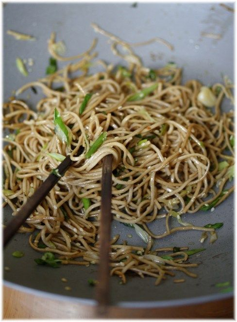 Soba Noodles: 2 Recipes