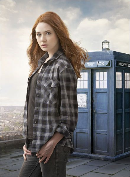 Karen Gillian and I are the same height, so she is some inspiration for getting in shape.