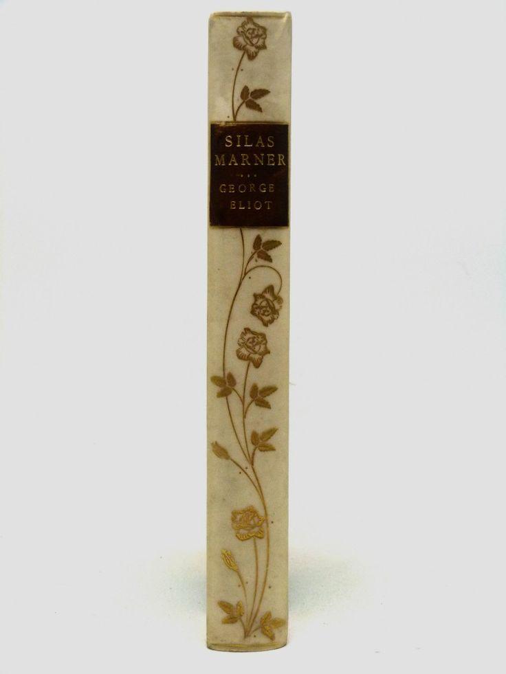 Silas Marner, The Weaver of Raveloe - half vellum binding