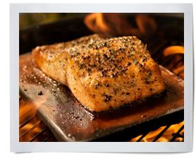 Cedar Planked Salmon with Maple Brown Su... | Caudle's Catch Seafood