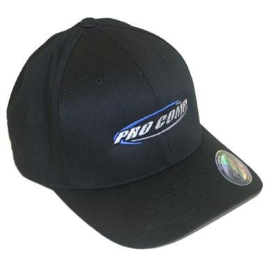 Flex Fit Baseball Cap in Black, Large/X-Large
