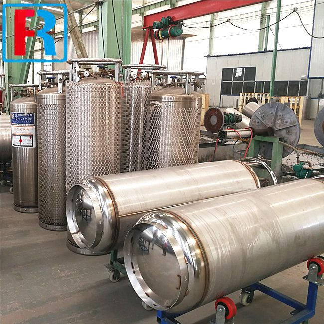 Very High Pressure Cryogenic Cylinder Cryogenic Cylinder Gas