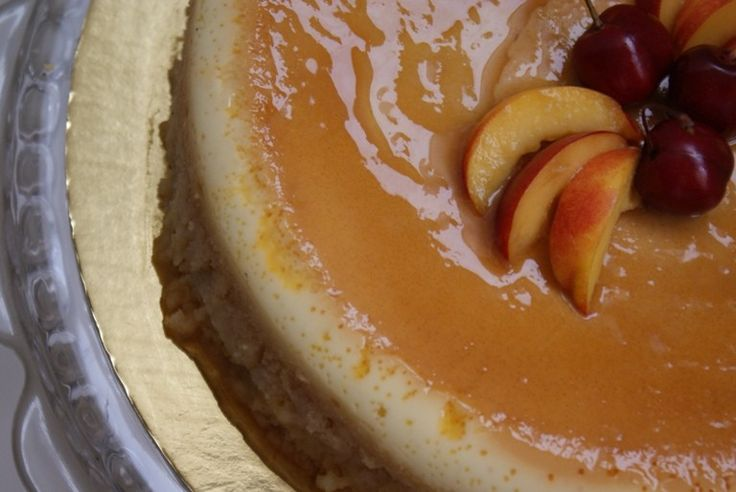 Cream Caramel Cake