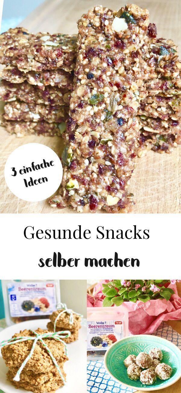Energiebällchen, vegane Kekse und Müsliriegel selber machen – leckere Snacks mit Jütro To Go