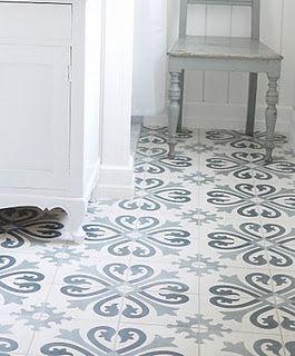 Tiles / Carreaux ciment.