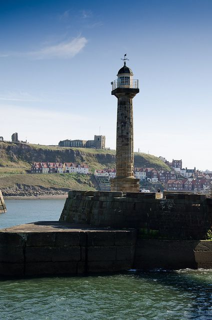 Whitby pier... North Yorkshire
