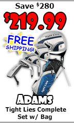 Discount Golf Clubs | New Golf Clubs | Golf Equipment from TaylorMade, Adams Golf, Mizuno, Callaway, Cleveland, Wilson, Nike