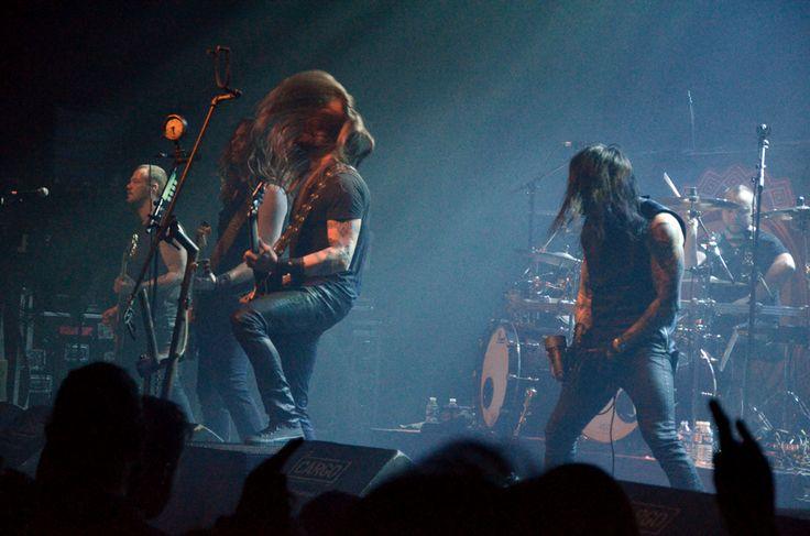 Amorphis, le Cargö. Caen, le 22 novembre 2015 © JB Quentin