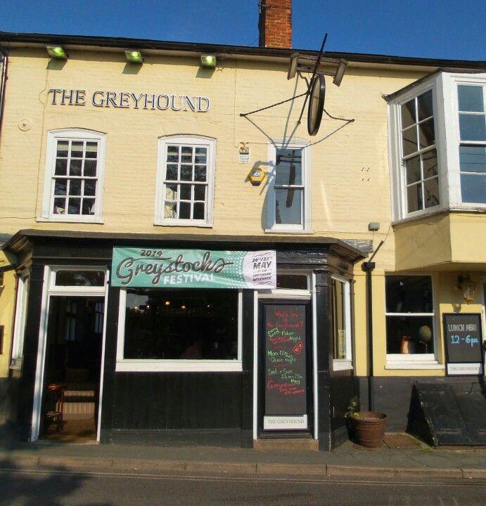 A great pub in Wivenhoe, Essex.
