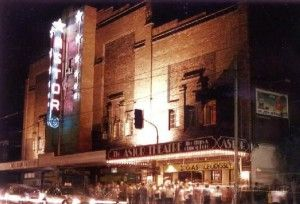 The Astor Theatre at Night