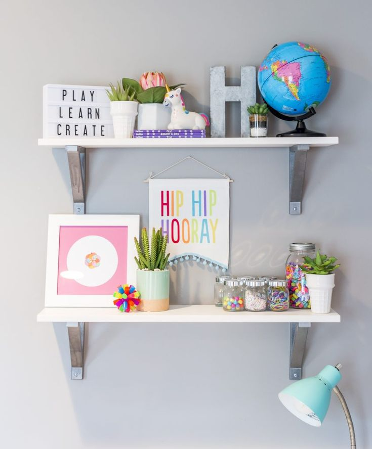 Bright And Bold Guest Bedroom: Bright And Bold Modern Playroom