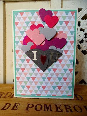 Ob ihr wollt oder nicht, er kommt! Der Valentinstag. - veronicard #handmade #cardmaking #papercraft #veronicard #love #valentinesday