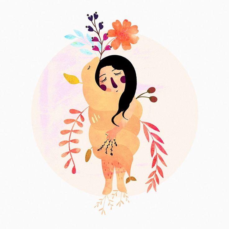 🐍💚 MUJER SERPIENTE #originalart #arte #art #womanartist #ilustracion #illustration #menstruacion #mexico #luna #feminism #feminismo #brujas #diosa #godess #redmoon #nature #naturaleza #snake #mujerserpiente