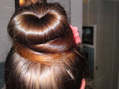 Another Favourite For A Greasy Hair Day Hairstyles That I Love Pinterest Greasy Hair