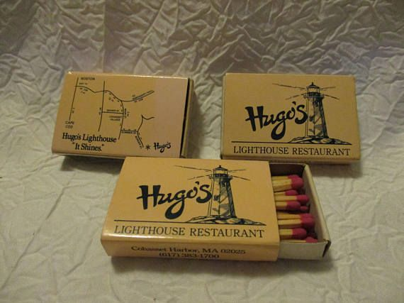 Collectible Tobacciana Match Boxes 3 Hugo's Lighthouse