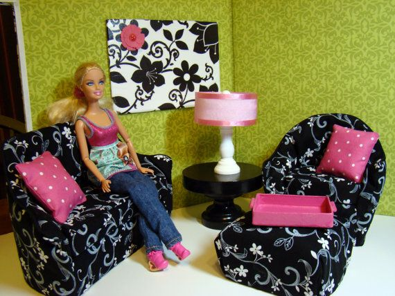 35 Best Images About Barbie Dollhouse And Furniture On Pinterest Barbie House Furniture Three