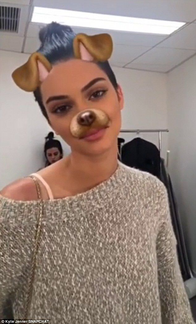 Kyle confessed: 'You guys, Kendall let me over-line her lips today with lip liner and everyone thinks she got lip injections'