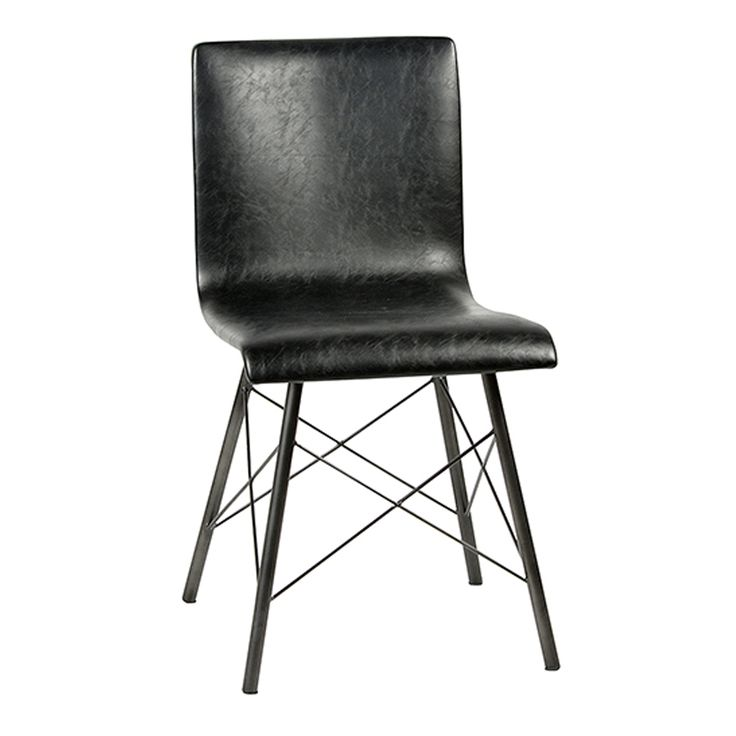 25+ best Black leather dining chairs ideas on Pinterest | Modern ...