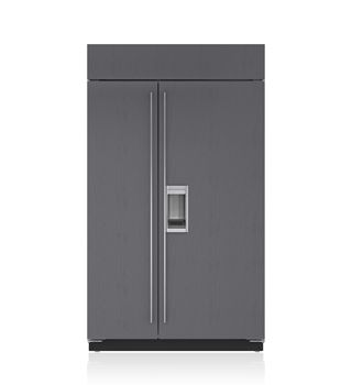"""Sub-Zero 48"""" Built-In Side-by-Side Refrigerator/Freezer with Dispenser - Panel Ready BI-48SD/O"""