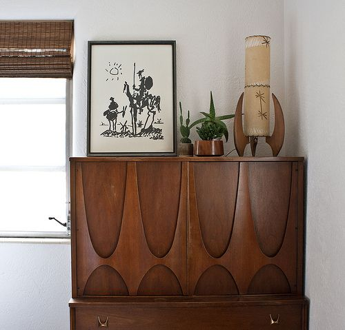 Mid-century modern Broyhill Brasilia in our bedroom. ✳